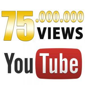 75000000YouTube