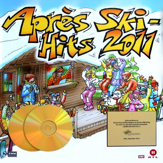 Gold Auszeichnung für unsere Produktionen an der Apres Ski Hits 2011